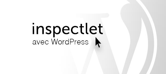 Installer inspectlet sous WordPress